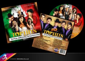 Mexico Top Hits CD Cover by AnotherBcreation