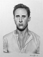 Ryan Gosling drawing by rachbeth