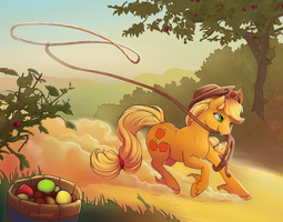 Apple lasso by viwrastupr