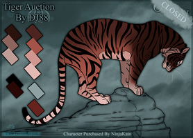 Tiger Auction 1 -CLOSED- by DJ88