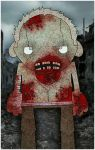 yet another walking dead zombie dude by twistedandgifted