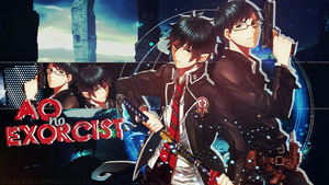 Ao no Exorcist | Wallpaper by ShoshiiAlex