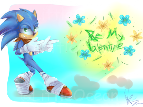 Sonic Valentine's Day by LittleOcean