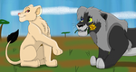 A Gift for You M'Lady_B-day gift for RogueLottie by SolitaryGrayWolf