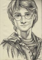 Harry Potter - Portrait Practice #0004 by Fjalldis