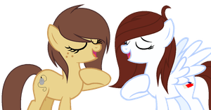 Mane Swap: Pixelbutt and Juliette by xx-Chanour