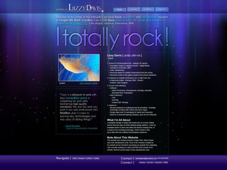 Website Redesign Round II by Lizzys