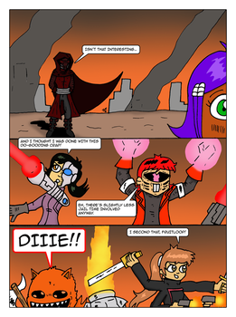 Tumbling Down Part 4 by JohnnyFive81