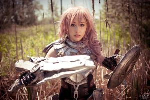FFXIII-2 - Lightning 2 by LiquidCocaine-Photos