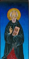 St. Columba of Iona by angelboi-red