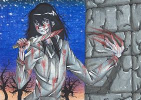 Jeff The Killer - Monster by MionOfDeath