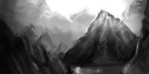 Mountains quickie by AstuteObservations