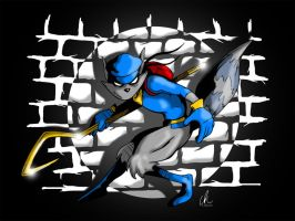 Sly Cooper - Master Thief by LRitchieART