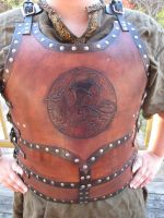Red Dragon Breastplate by TheScreamingNorth
