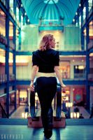 Andrea at the Mall by SREphoto