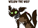 Willow the Wolf by AirenNova
