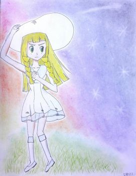 Second attempt:lillie by ramzezrivera
