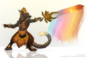 GW2 Commission - Eos Morgenglanz by fedtowolves