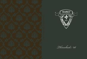 Yearbook Cover - Maret School by GPetrov