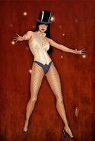 Magic time with Zatanna by vetega