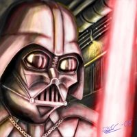 Darth Vader by DeathKnightCommander