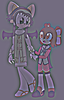 Ion and Anise - best friends by Sweetgirl333