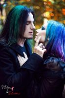 Gothic Couple by AngeliqueDeSange