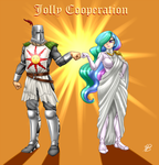 Commission . Jolly Cooperation by Pia-sama