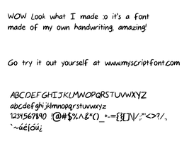 Make Your Own Font! (link in description) by BubblezwithaZ