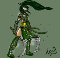 Akali by TheDracoJayProduct