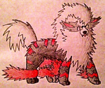 COMM - Archie the Arcanine by KJB-Believer-2014