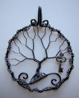 Key To The... *SOLD* by RachaelsWireGarden