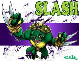 SLASH TMNT by Dreekzilla