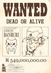 Apple Black: Gideon Banburi Wanted Poster by odunze