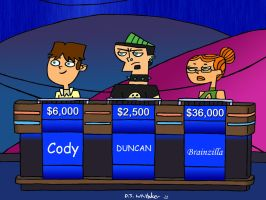 Total Drama Jeopardy Revisited by DJgames