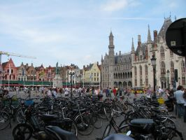 bicycles and architecture by amberw510