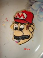 Mario's disappering face by Sapphire-Light