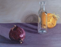 Cry in a Bottle Still Life by melissrrr