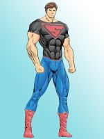 Ultimate Superboy Colors by chimera335