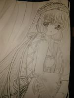 Chobits chii by LittlePrincessMay