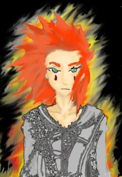 Axel, Fire's Acolyte by SpidaBoy