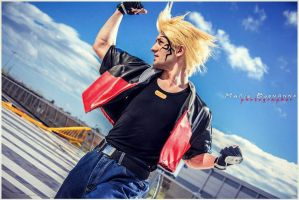 Uppercut Training - Zell Dincht Cosplay by Leon C by LeonChiroCosplayArt