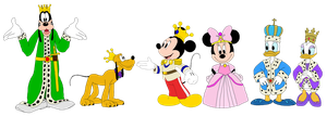 Mickey Mouse Clubhouse - Royalty by KingLeonLionheart