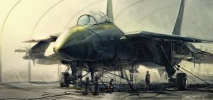 Fighter Jet by Concept-Art-House