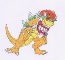Bowser Koopa Jr. by Scatha-the-Worm