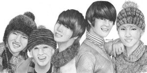 Shinee by BlueBerry-is-cute
