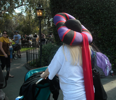 Frollo hat pushes a stroller by ChristineFrollophile