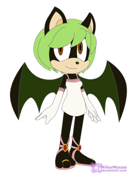 Jennifer The Bat [ReDesign] by MileyMouse