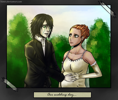 Our wedding day by Vaniri