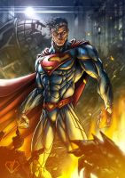 The Man of Steel by DazTibbles